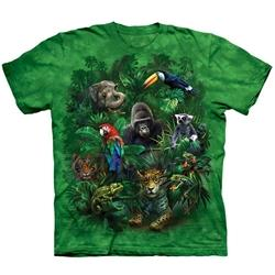 Jungle Friends Youth's Tee Shirt 43-1534250