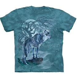 Wolf Tree Silhouette Youth's Tee Shirt 43-1534790