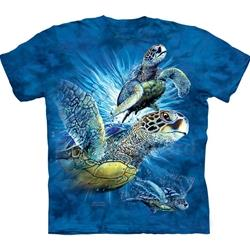 Find 9 Sea Turtles Youth's Tee Shirt 43-1535150