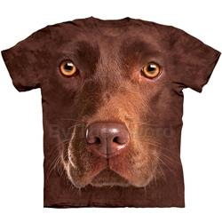 Chocolate Lab Face Youth's Tee Shirt 43-1535500