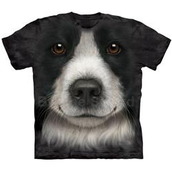 Border Collie Face Youth's Tee Shirt 43-1536060