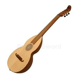 Lute-Guitar, Nylon, Rosewood, Gears, Dbl 47-GDNRG