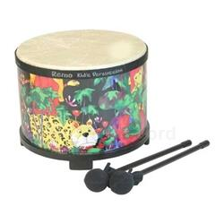 "Remo Floor Tom, 10"" x 7.5"" Rain Forest 47-KD-5080-01"