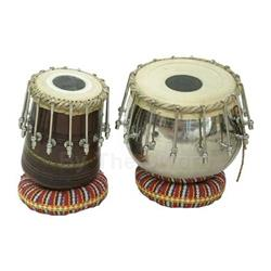 Tabla Set, 16 Bolt Tuning, Brass Bayan 47-TBSB