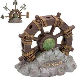 Wheel of Pain Display Stand for Mini Conan Weapons by Marto 56-C065