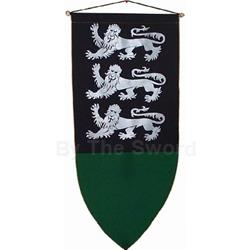 The Triple Lion Passant Guardant Banner BP-06