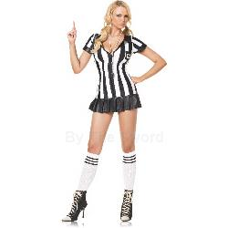 Pleated Penalizer Referee Adult Costume 100-135570