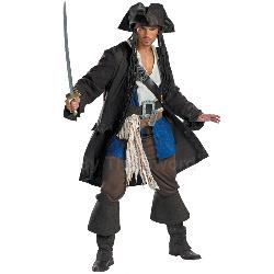 Captain Jack Sparrow Prestige Adult Costume 100-145383