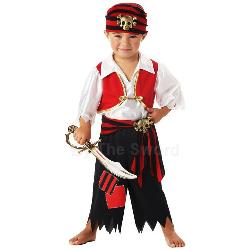 Ahoy Matey! Pirate Toddler Costume 100-145814
