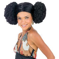 Afro Poof Wig Adult 100-145324