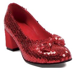 Judy Sequin (Red) Adult Shoes 100-149364