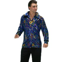 Dynomite Dude Disco Shirt Adult Costume 100-152305