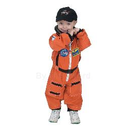 NASA Jr. Astronaut Suit Orange Toddler Costume 100-153071