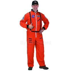 NASA Astronaut Orange Suit Adult Costume 100-153073