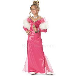Hollywood Starlet Child Costume 100-156053