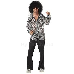 Groovy Disco Shirt Adult Costume 100-156638