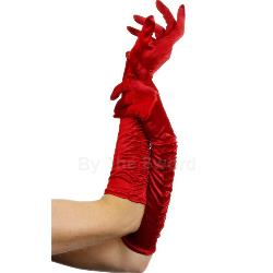 Temptress Long Red Gloves 100-157354