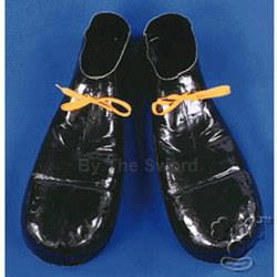 Plastic Clown Shoes 100-105400