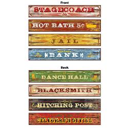 Western Sign Cutouts (4 count) 100-158767