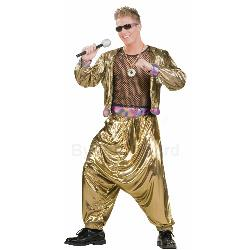 80s Video Super Star Adult Costume 100-179551