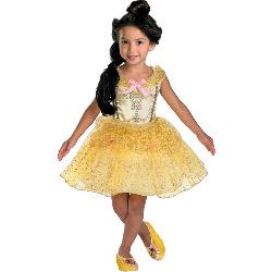 Beauty and the Beast Belle Ballerina Toddler Costume 100-177550