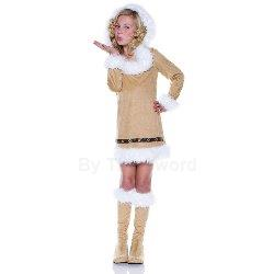 Eskimo Girl Child Costume 100-185584
