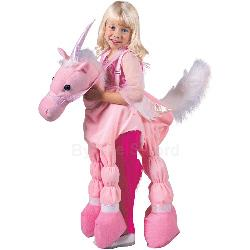 Pink Ride A Unicorn Child Costume 100-180840