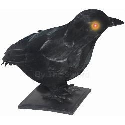 "10"" Realistic Crow with Light Up Eyes and Sound 100-197104"