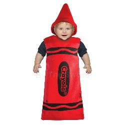 Red Crayola Crayon Bunting Costume 100-195790
