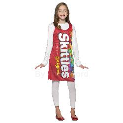 Skittles Tank Dress Tween/Teen Costume 100-195820