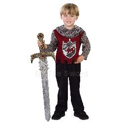 Scarlet Knight Toddler Costume 100-196517