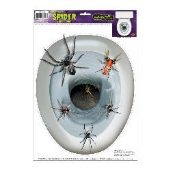 Spider Toilet Topper Peel 'N Place 100-189949
