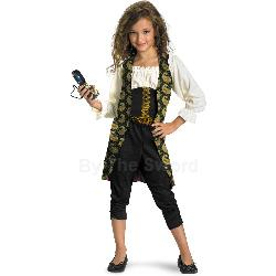Pirates of the Caribbean 4 Angelica Child Costume 100-198239