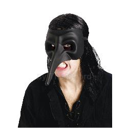 Venetian Raven Black Mask (Adult) 100-199340