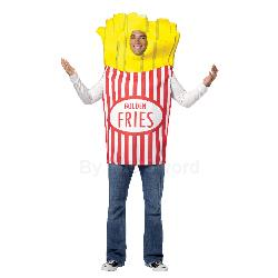 French Fries Adult Costume 100-199646