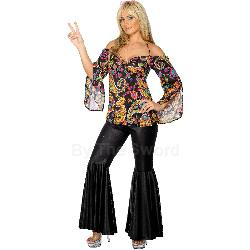 Hippie Adult Plus Costume 100-211286