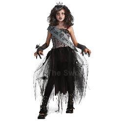Goth Prom Queen Child Costume 100-211368