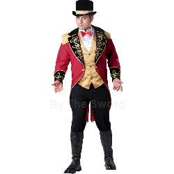 Ringmaster Adult Plus Costume 100-213035