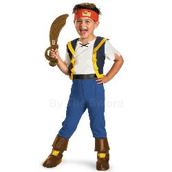 Jake and the Never Land Pirates Deluxe Jake Toddler Costume 100-214023