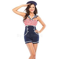 Pin Up Sailor Adult Costume 100-214797