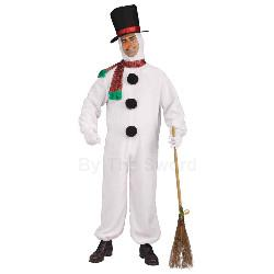 Plush Snowman Adult Costume 100-214448