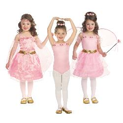 Renaissance Princess Ballerina Flower Fairy Child Costume 100-213877