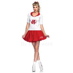 Grease Rydell High Cheerleader Adult Costume 100-212620