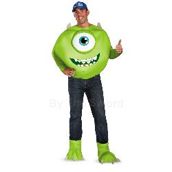 Monsters University Mike Deluxe Adult Costume 100-216945