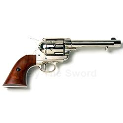 Old West 1873 Frontier Revolver Nickle Finish Non Firing FD1106N