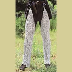 Mail Leggings Butted Stainless Steel KR-LG87