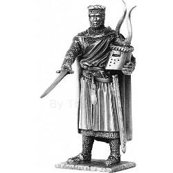 Sir Bedwere and Chair Pewter Sculpture METR007