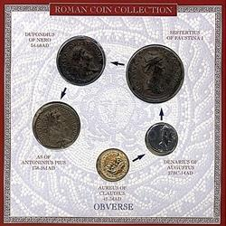 Roman Coin Set Five RCP-5