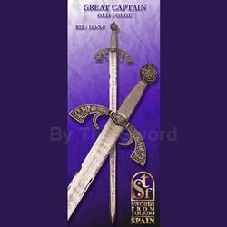 Great Captian Sword, Old Forge TS-140-N-F