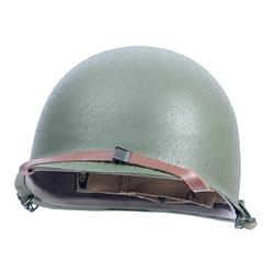 US Army M1 Helmet with Liner and accessories Reproduction WWII